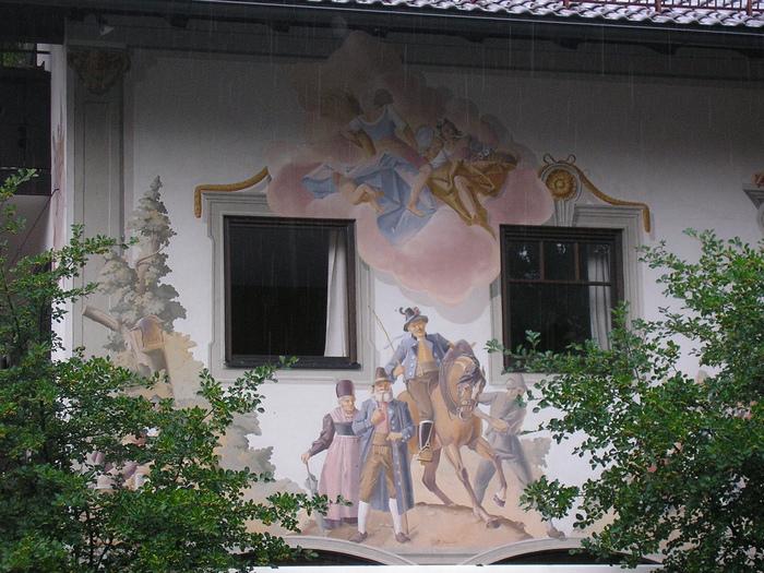 Обераммергау- маленькая деревушка с большой историей. 72544