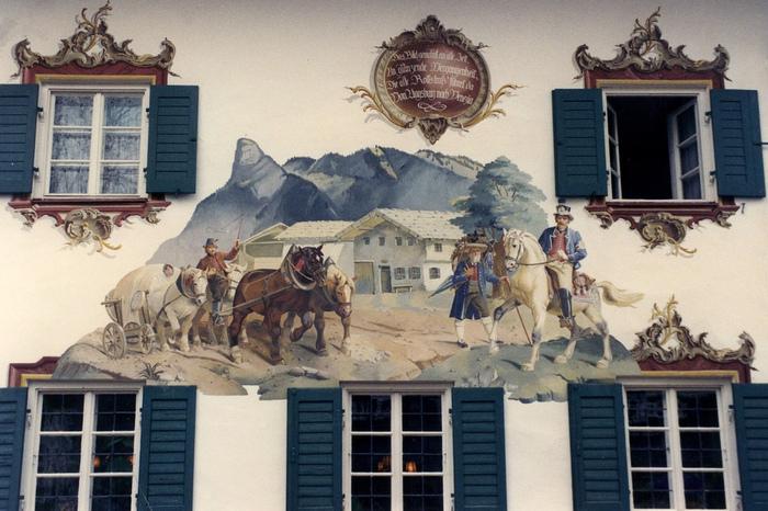Обераммергау- маленькая деревушка с большой историей. 82388
