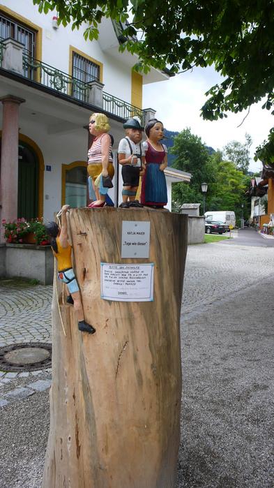 Обераммергау- маленькая деревушка с большой историей. 10564
