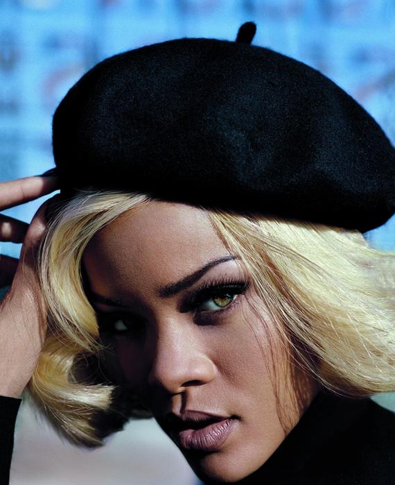 Рианна на страницах Vogue UK November 2011