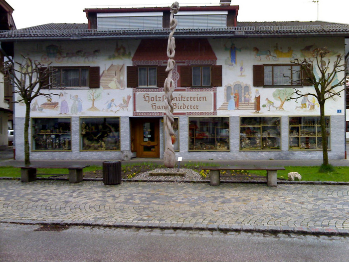 Обераммергау- маленькая деревушка с большой историей. 37150