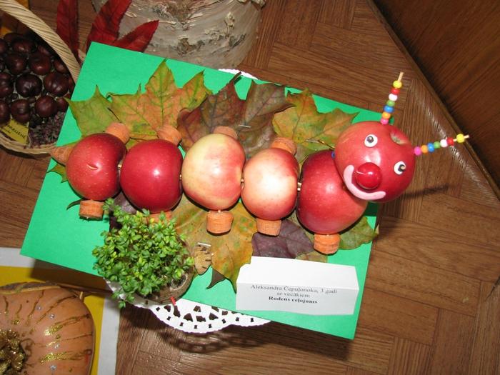 Осенняя поделка в садик своими руками фото