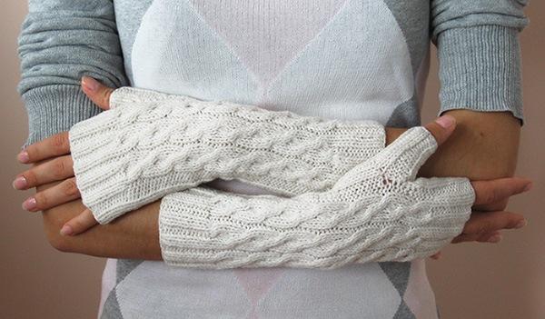 Гетры вязаные спицами своими руками