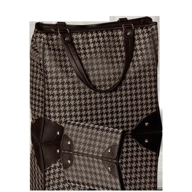 Английская клетка и лаконичный функциональный дизайн сумки отра.