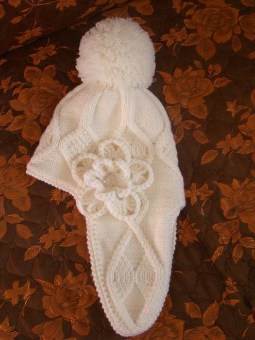 Женская зимняя шапка своими руками сшить