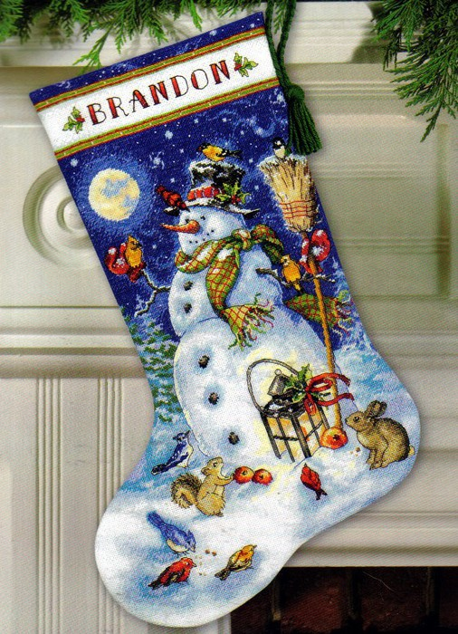 4129864_Dimensions_08839_Snowman__Friends_Stocking (506x700, 157Kb)