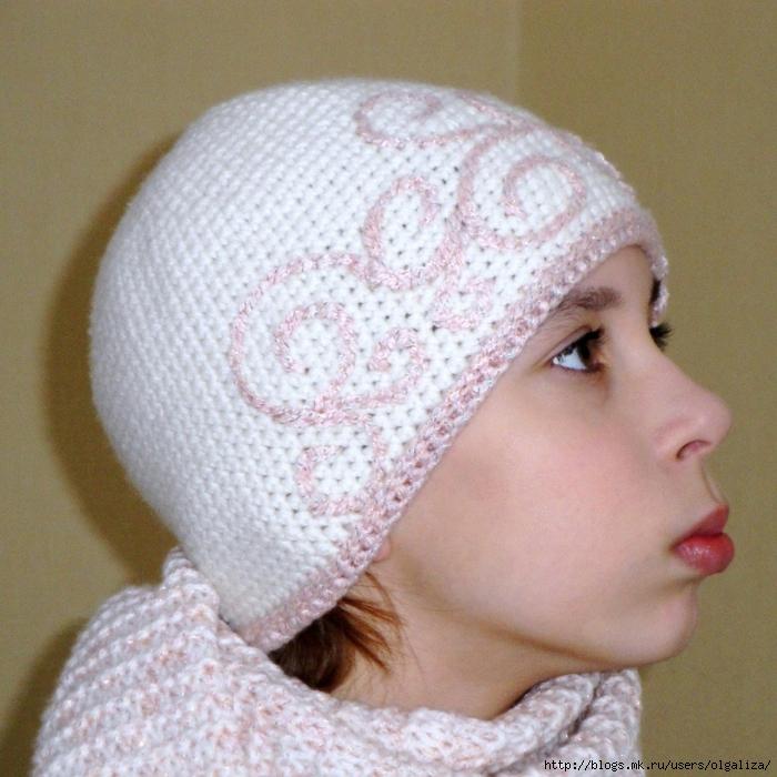 Вязание шапок по спирали
