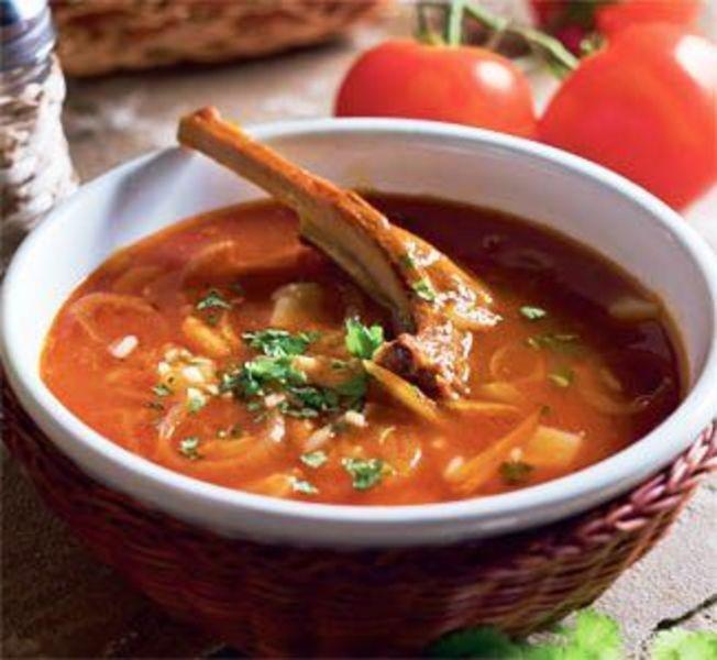 Картофельный суп с говядиной Мясные Супы Супы 2.