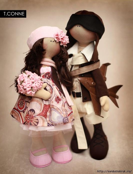 Новые куклы от Татьяны Конне.