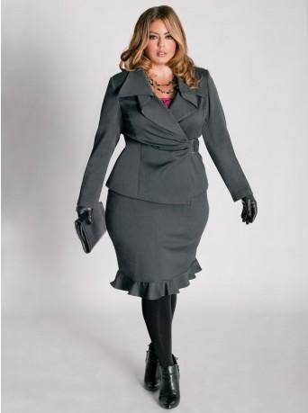 Лучшие модели юбок для полных: универсальный стиль.