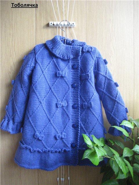 针织:一个五岁女孩的大衣 - maomao - 我随心动