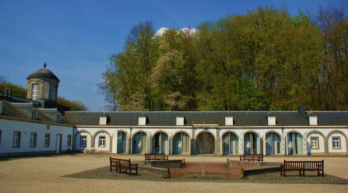 Сенефский дворец (Chateau de Seneffe) 82076