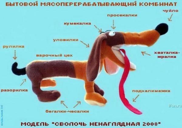 Пёсоматрица.Мясоперерабатывающий комбинат (600x422, 49Kb)