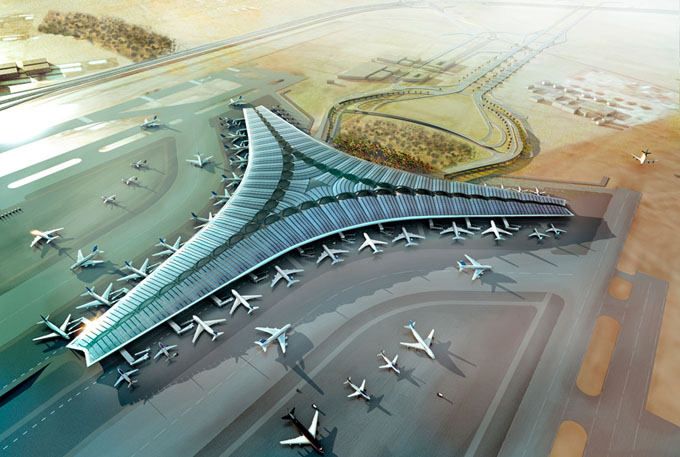 Kuwait-International-Airport-by-Foster-and-Partners01 (680x457, 98Kb)
