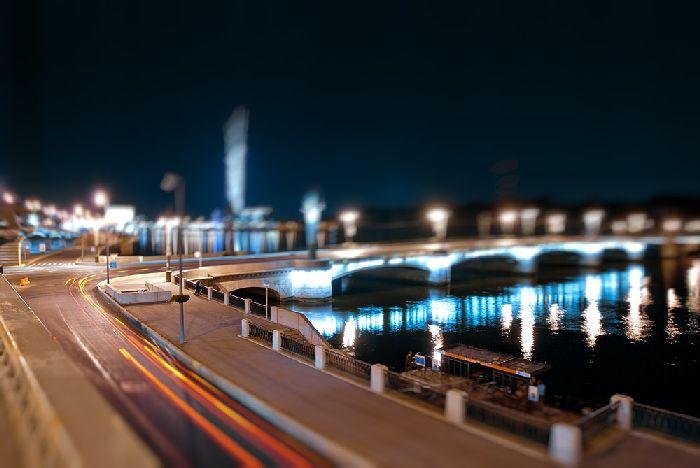Ушаковский мост, фото Ушаковского моста