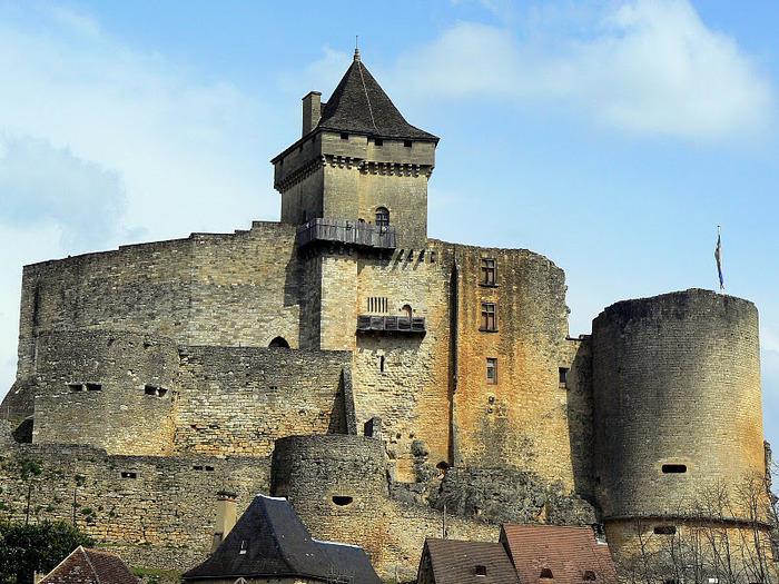 Замок Кастельно ( Chateau de Castelnaud ) 35004
