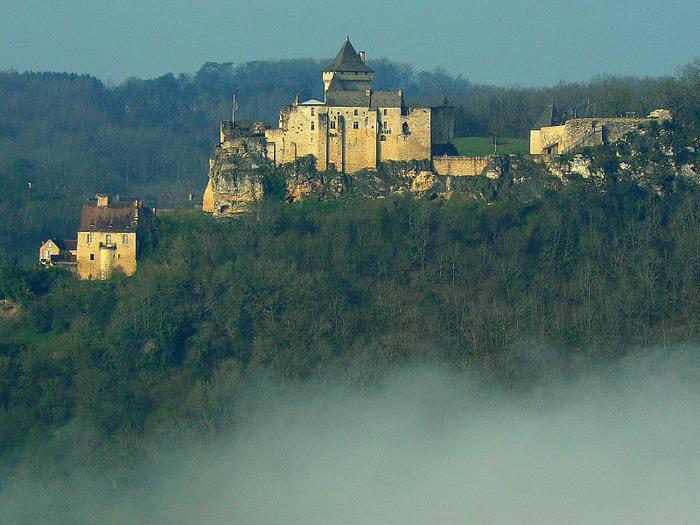 Замок Кастельно ( Chateau de Castelnaud ) 20253