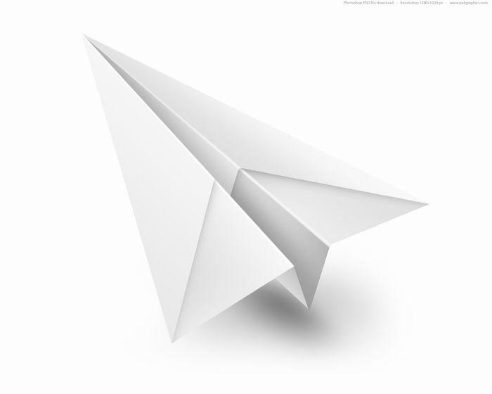 Чертежи бумажных самолётиков
