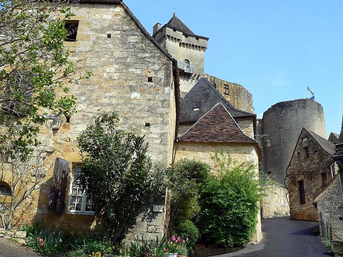 Замок Кастельно ( Chateau de Castelnaud ) 66571