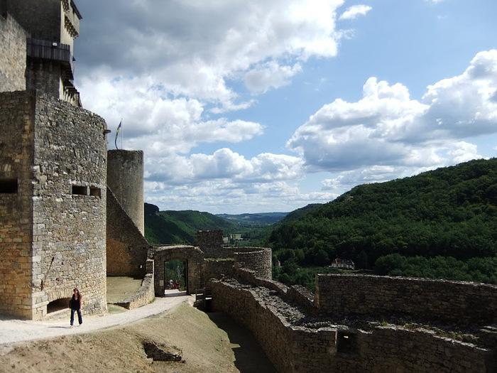 Замок Кастельно ( Chateau de Castelnaud ) 99483