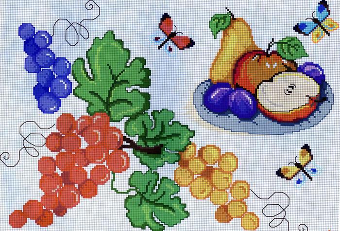 схемы вышивок для кухни2 (700x475, 207Kb)