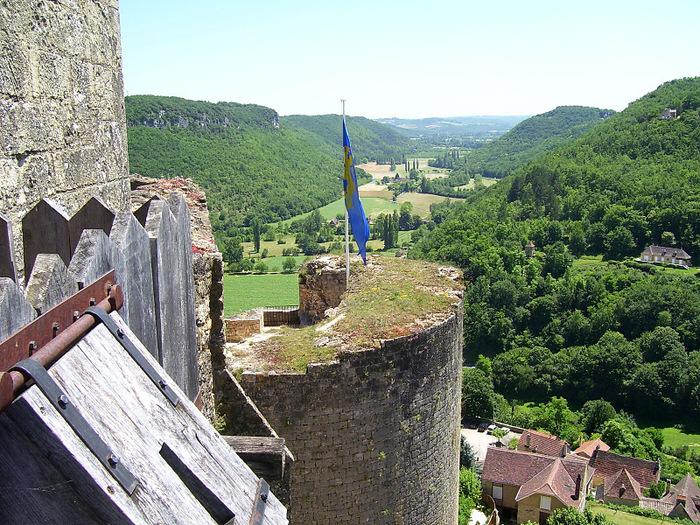 Замок Кастельно ( Chateau de Castelnaud ) 93546