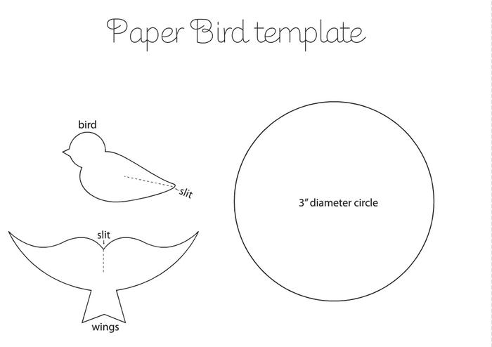 Как делать птицу своими руками из бумаги