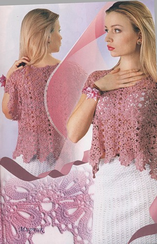 Модное рукоделие ру вязание 133