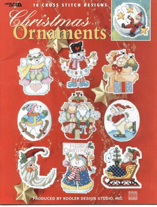 "... ""Christmas Ornaments - РІС ""С... вышивка. в цитатник. вышивка/журналы и книги."