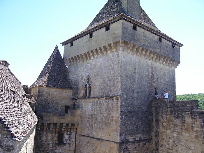 Замок Кастельно ( Chateau de Castelnaud ) 43678