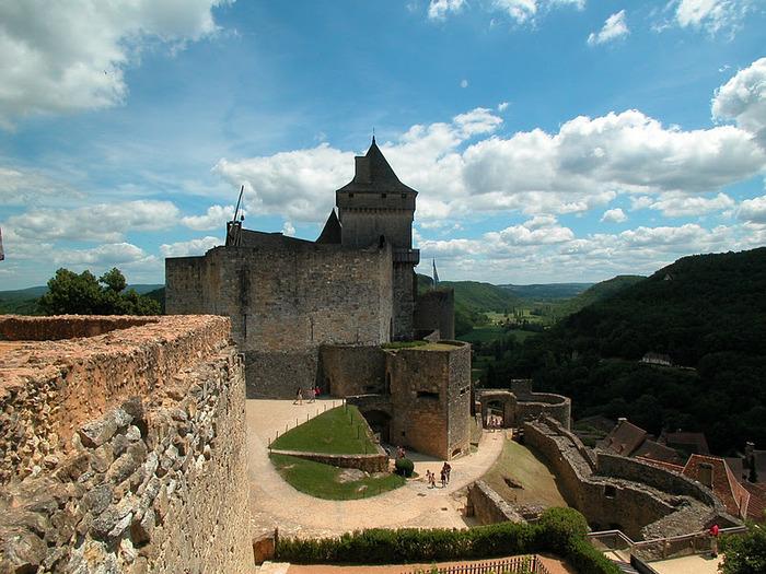 Замок Кастельно ( Chateau de Castelnaud ) 78091