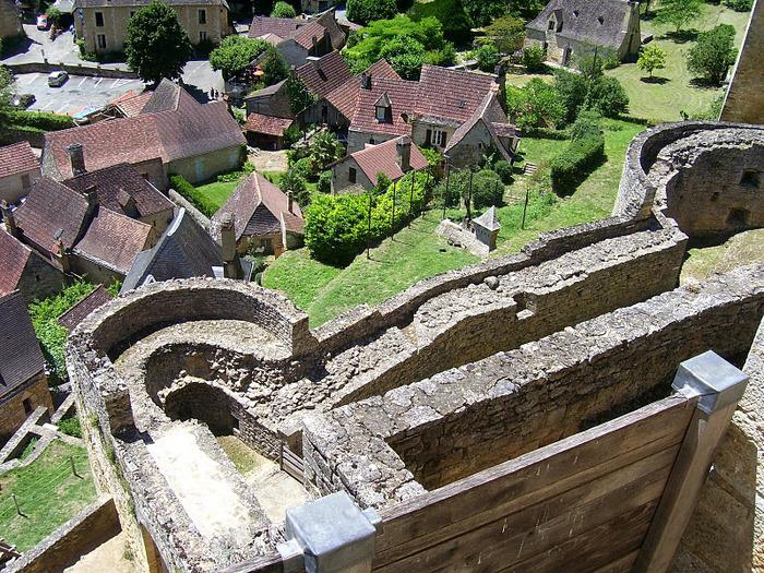 Замок Кастельно ( Chateau de Castelnaud ) 32754