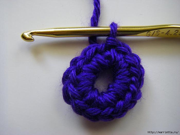 三维编织的钩针胸花(大师班) - maomao - 我随心动