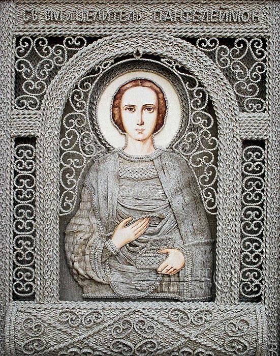 Святой Великомученик Пантелеймон Целитель (551x700, 226Kb)