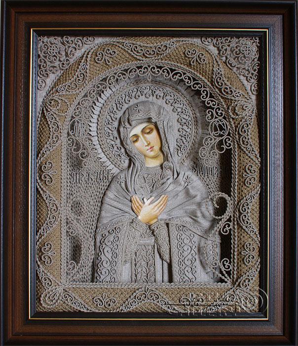 Икона Божией Матери `Умиление` (604x700, 188Kb)
