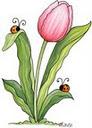 Превью Tulip and Ladybugs (92x128, 5Kb)