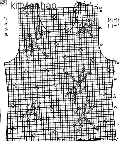 Схемы филейного вязания картин крючком.