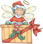������ Christmas Fairy02 (570x576, 107Kb)