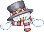 Превью Snowman Peeker (644x475, 79Kb)