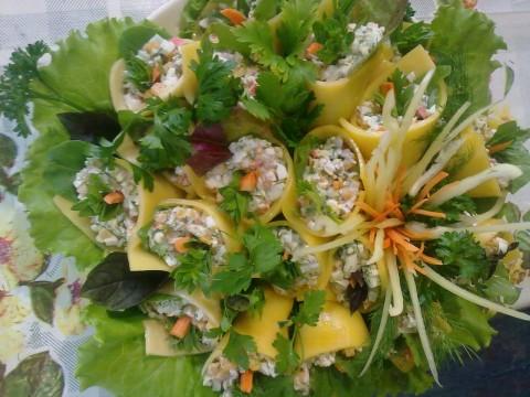 Рецепты салатов с фотографиями калла
