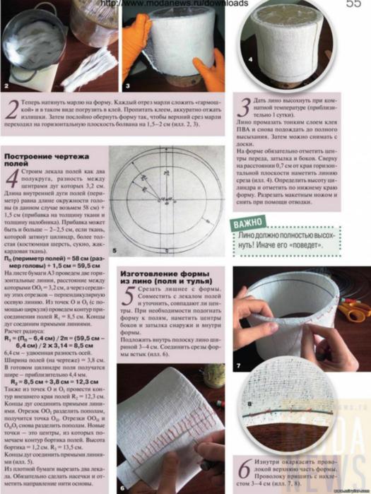 Шляпка своими руками пошаговая инструкция 27