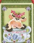 Превью открытка коровка (453x576, 75Kb)