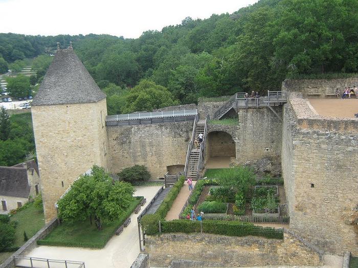Замок Кастельно ( Chateau de Castelnaud ) 22403