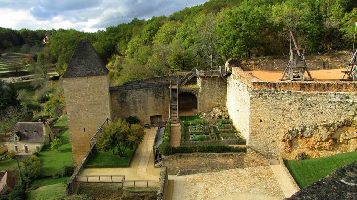 Замок Кастельно ( Chateau de Castelnaud ) 22004