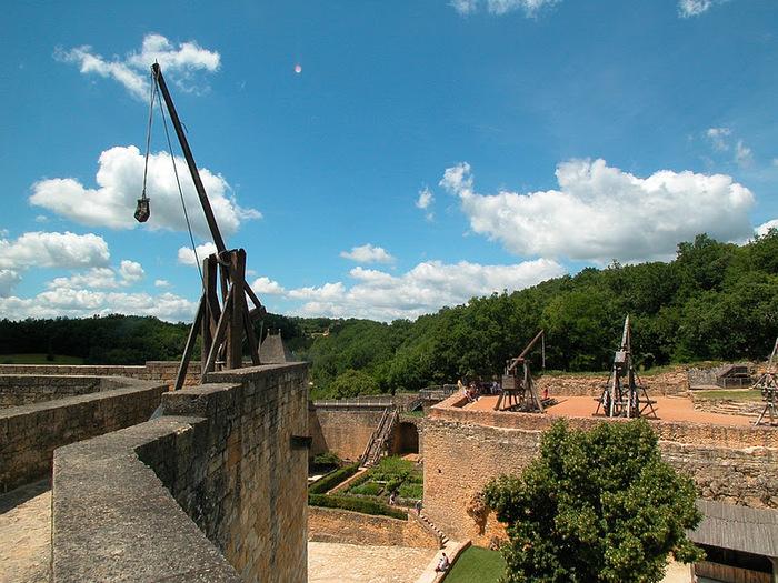 Замок Кастельно ( Chateau de Castelnaud ) 55507