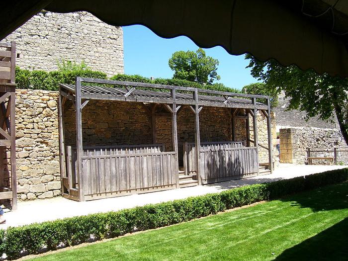 Замок Кастельно ( Chateau de Castelnaud ) 53271