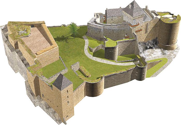 Замок Кастельно ( Chateau de Castelnaud ) 15414