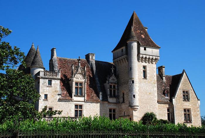 замок в Миланде (Chateau des Milandes). 98932