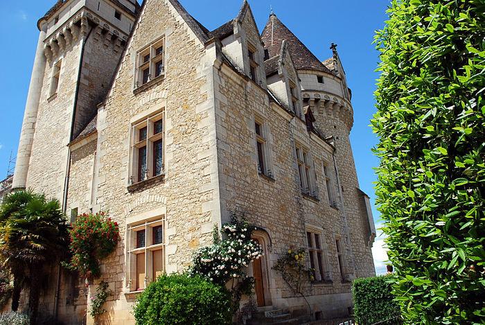 замок в Миланде (Chateau des Milandes). 58862