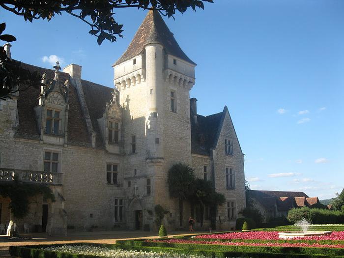 замок в Миланде (Chateau des Milandes). 38469